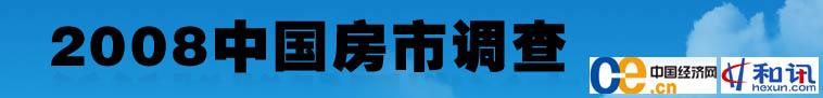 2008中国房市调查