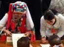 代表请各省领导签名留念