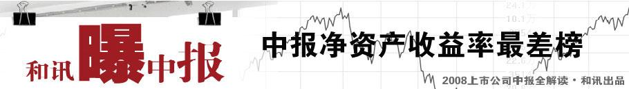中报,净资产收益率