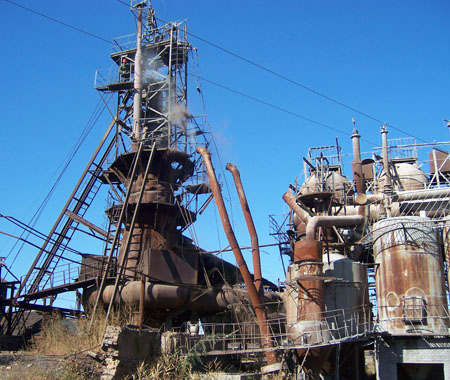 秦皇岛钢厂分布图