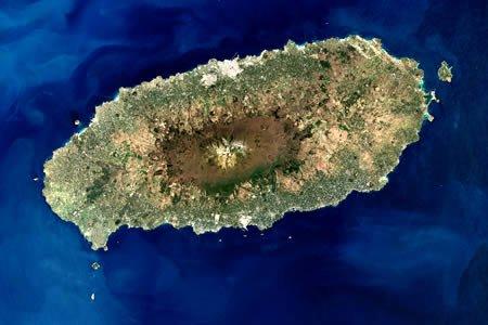 从太空俯视地球 20幅最壮观的地形图图片
