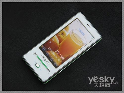 影音旗舰手机 OPPO real T9touch你的心(组图