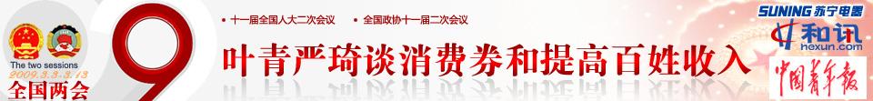 叶青,,严琦,人大代表,统计局副局长,和讯,两会