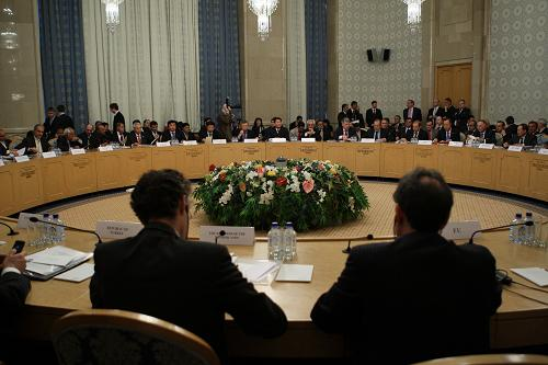 """作组织""""阿富汗问题国际会议""""在俄罗斯首都莫斯科举行.会议讨论"""