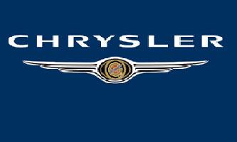 克莱斯勒的姓氏命名的汽车公司.图形商标像一枚五角星勋章,高清图片
