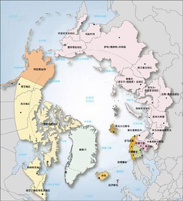 2月9日,丹麦,挪威,冰岛,瑞典,芬兰五国召开北冰洋军事安全合作机制