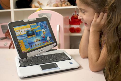 peewee发布适合儿童使用的平板笔记本电脑(组图)