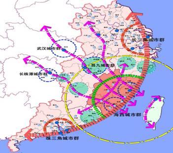 鹰潭白鹤湖城市规划图