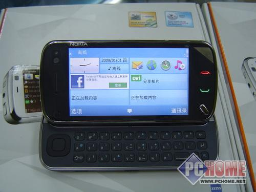 滑盖全键盘 诺基亚N97行情一路走低(组图)