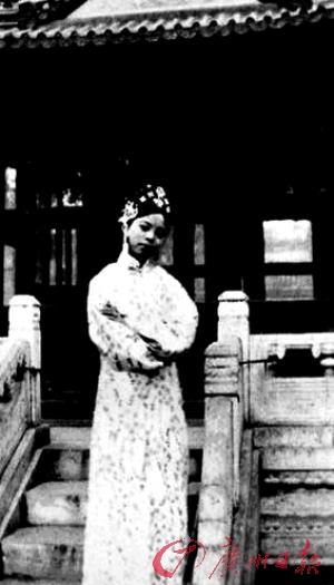 末代皇后与皇妃 婉容自称是文绣的 佳偶