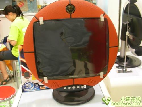 纯手工打造 个性篮球液晶不足1500元(组图)