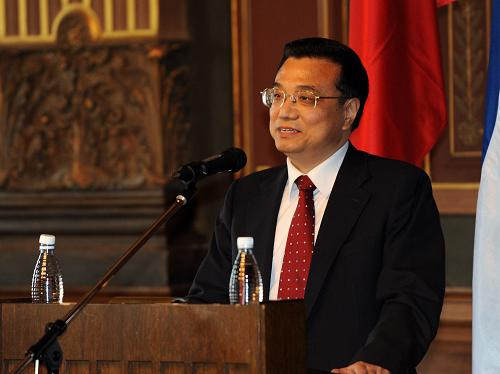 Link to Li vows to enhance amity between China, Thailand