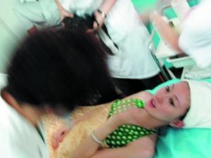 汤加丽大胆人体艺术下体_汤加丽广州遭遇\