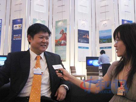 马凯集团董事长李震接受了和讯网的专访