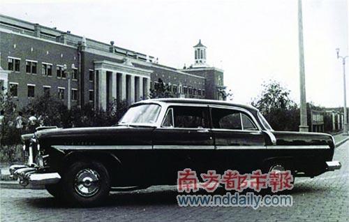 1959年 红旗CA72轿车高清图片