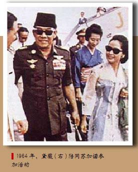 黛薇夫人:从日本艺伎到印尼总统夫人(图)