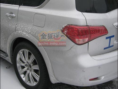 2011款英菲尼迪qx56或北京车展亮相 高清图片