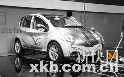 长城-欧拉纯电动车高清图片