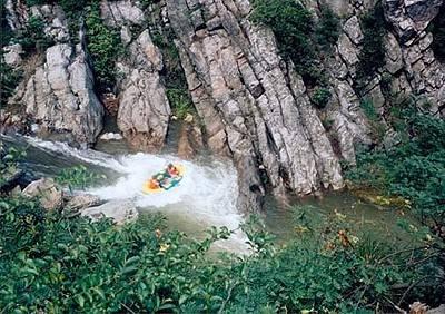 三爪仑神仙谷漂流