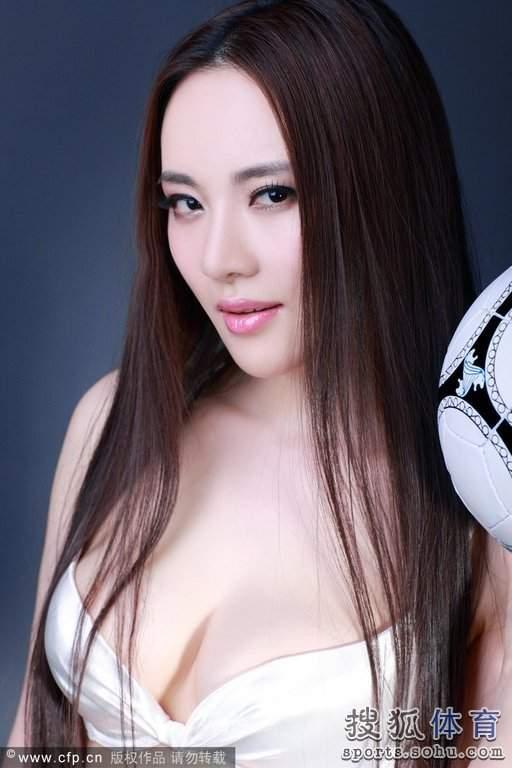 清新养眼:中国十大足球宝贝