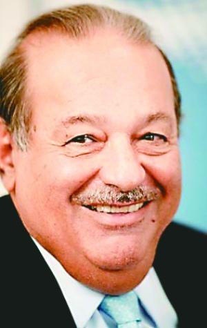 墨西哥电信大亨卡洛斯·斯利姆