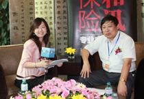 徐文虎接受和讯网记者采访