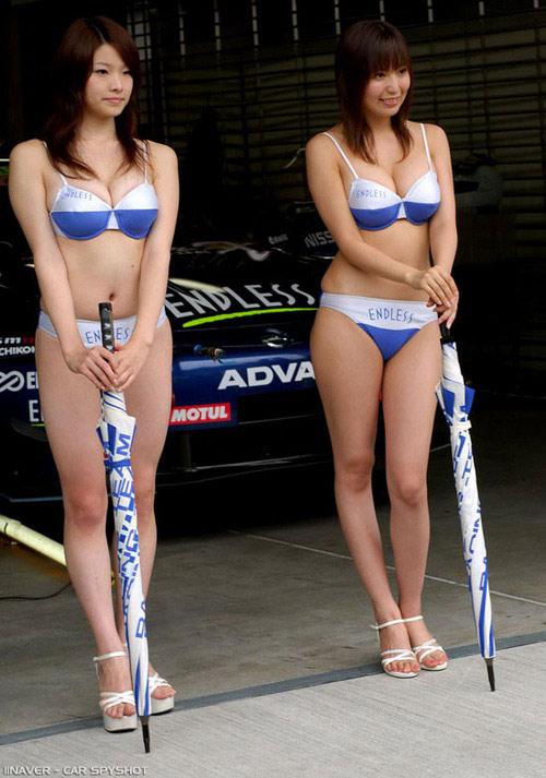 浮世绘 那些性感火爆的韩国车模 汽车频道