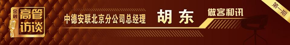 金融高管访谈――胡东/