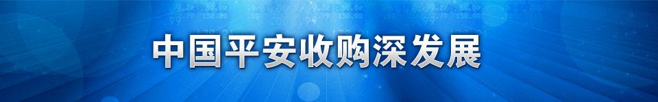 中国平安,深发展