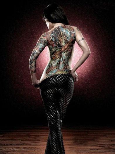 欧美纹身霸气拽大图