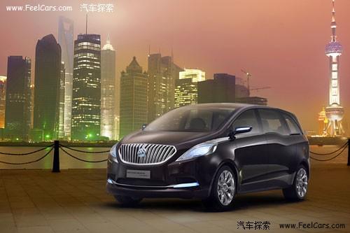 别克商务概念车-别克GL8概念车参数曝光 或于2011年国产高清图片