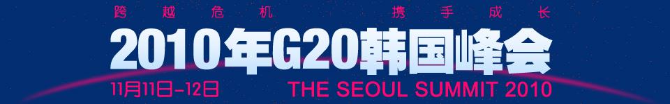 2010年G20韩国峰会