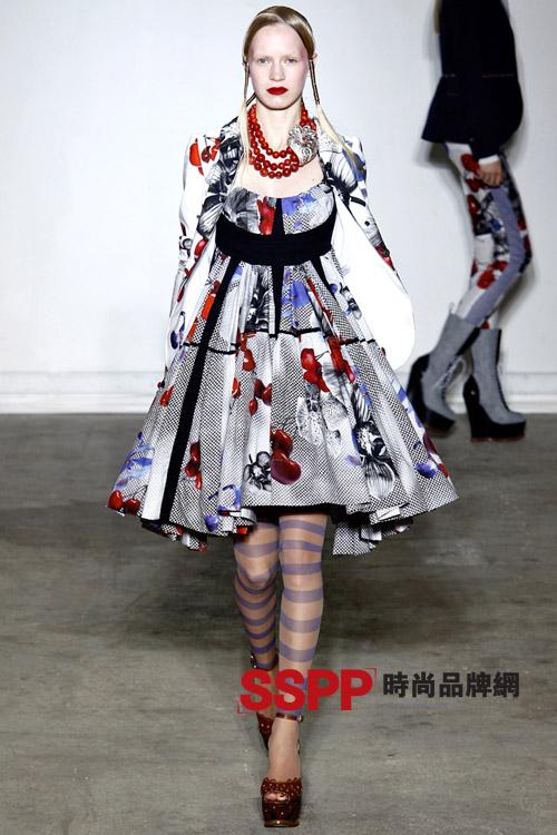 樱桃小公主 可爱女生装扮 Wunderkind 2011春夏女装秀发布
