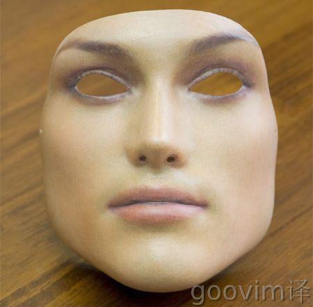 逼真的人脸面具(组图)