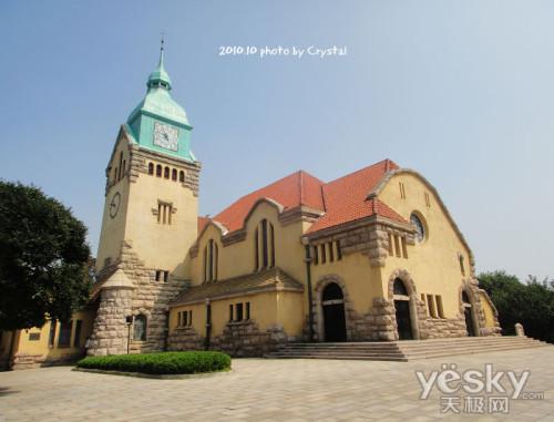 青岛基督教堂(德国古堡式建筑)