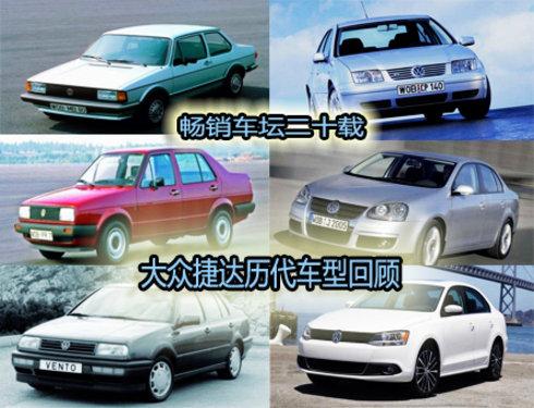 大众Jetta历代车型回顾史
