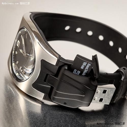 随身携带更方便 看microsd手表读卡器(组图)
