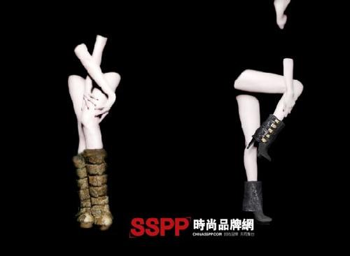 luna鞋履2010秋冬新品广告系列-奢侈品频道