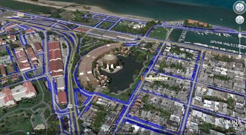 谷歌街道地�_谷歌推最新地图服务\