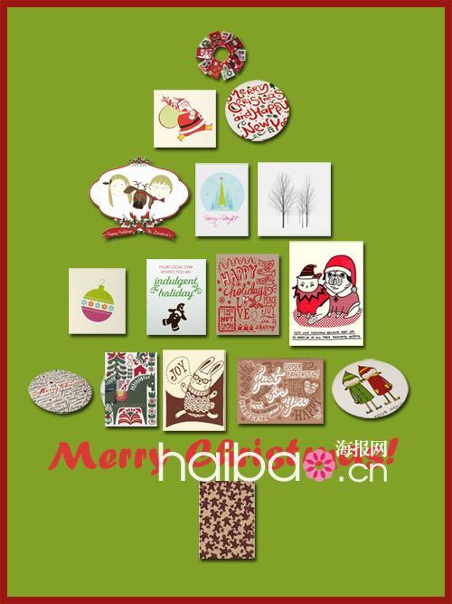 幼儿园卡纸中国结_儿童圣诞贺卡图画内容 儿童圣诞贺卡图画图片