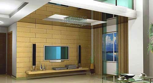 时尚经典 十款极具韵味的电视背景墙