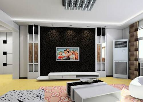 电视背景墙效果图; 影视墙装修效果图_装修效果图大全2013图片