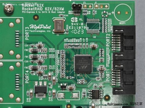西部数据预计2011年第二季度之后主板和芯片组磁盘控制器就能开始全面支持3TB硬盘,到时候自然也就不会再捆绑这种适配卡了。   使用PCI-E 2.0总线适配卡硬盘性能好   这次测试我们使用最常见的硬盘基准性能工具CrystalDiskMark 3.0,分别考察硬盘挂接适配卡与直连主板的情况,前者还分成了PCI-E 1.