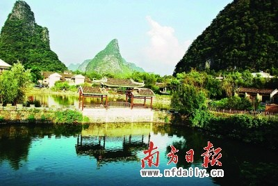 黄姚镇位于广西贺州昭平县东北部,县城东北部40公里(直距),北面与钟山