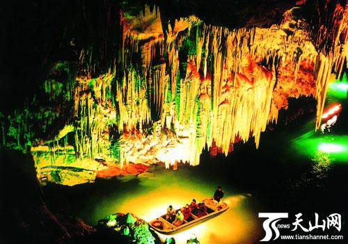 媒体新闻库 正文    本溪水洞风景名胜区,位于辽宁省本溪市,由水洞