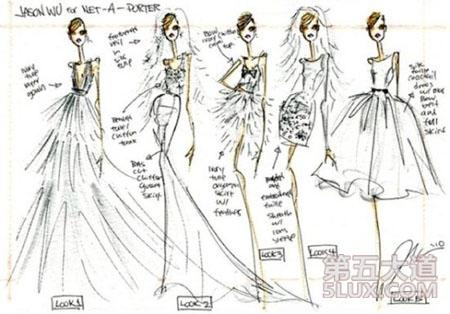 芭比服装设计图手绘简单