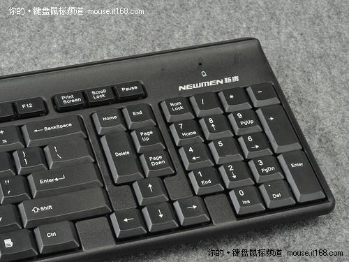 科技滚动 正文  键盘的退格键采用加大型设计