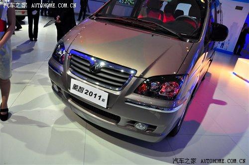 风行菱智,在亮相的同时,风行汽车还公布了2011款菱智的价格区高清图片