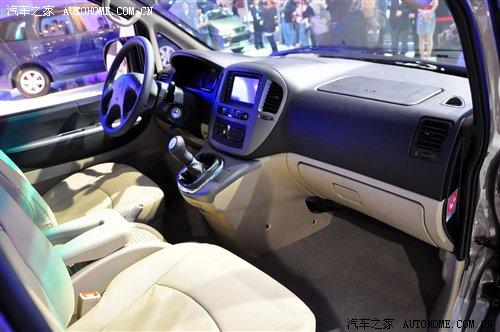 『2011款风行菱智内饰图』-3款发动机 2011款风行菱智正式发布高清图片