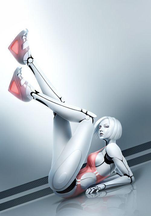 史上最销魂美女机器人 真人秀组图 新闻频道